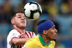 Brazil vượt qua Paraguay, chờ Argentina