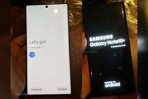 Samsung Galaxy Note 10+ lộ ảnh trên tay