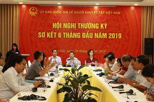 Năm 2019, khoảng 6.000 lao động là NKT được tạo việc làm