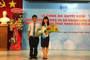 Trường Tiểu học Thực hành Đại học Sài Gòn đi vào hoạt động