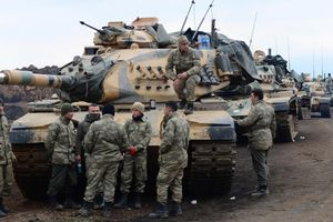 Binh sĩ Thổ Nhĩ Kỳ bị tấn công tại Syria, 4 người thương vong
