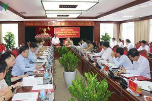 Triển khai quyết định kiểm tra đối với Ban Thường vụ Tỉnh ủy Hải Dương