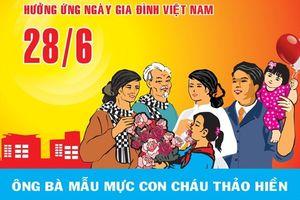 10 lời chúc hay và ý nghĩa nhất nhân ngày Gia đình Việt Nam 28/6