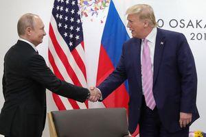 Lâu ngày gặp lại, hai nhà lãnh đạo Nga, Mỹ có cuộc đối thoại 'vui vẻ'