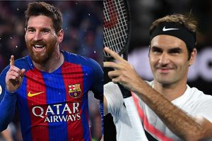 Roger Federer khen Messi là chân sút vĩ đại nhất lịch sử bóng đá
