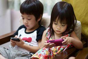 Khi trẻ em nghiện smartphone