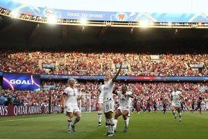Mỹ loại chủ nhà Pháp ở tứ kết World Cup nữ 2019