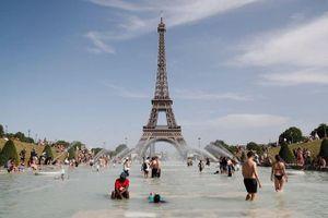 Pháp đóng cửa trường học, tăng giờ mở cửa công viên vì chìm trong 'chảo lửa'