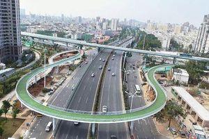 Đường trên cao với 2.000 xe đạp giờ cao điểm ở Trung Quốc