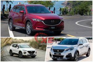 Gần 1,4 tỷ, mua Mazda CX-8, Hyundai Santafe hay Peugeot 5008?