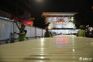 Hà Nội: Rào chắn đường Trần Hưng Đạo để thi công nhà ga ngầm S12