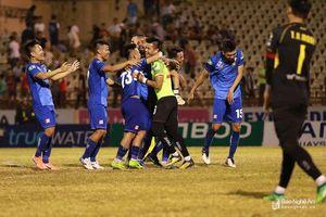 Sông Lam Nghệ An thua ngược Quảng Nam tại vòng 1/8 Cúp QG