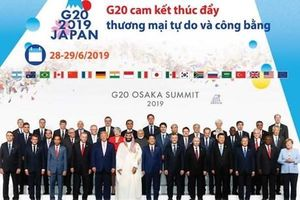 G20 cam kết thúc đẩy thương mại tự do và công bằng