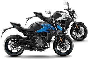 Naked bike Trung Quốc dung tích 400cc, giá 113 triệu đồng