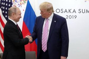 Điện Kremlin nói gì về kết quả cuộc gặp của hai Tổng thống Putin-Trump?