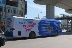 Xe khách bị biến thành 'xe quảng cáo' lạ, Cục Đăng kiểm nói gì?