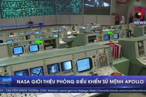 NASA giới thiệu Phòng Điều khiển Sứ mệnh Apollo 11