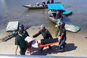 Cảnh sát 113 kịp thời cứu hộ nạn nhân nhảy cầu Thuận Phước
