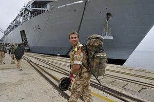 Tung cảnh báo rắn tới Nga, Anh triển khai hải quân quy mô nhất tới Biển Baltic