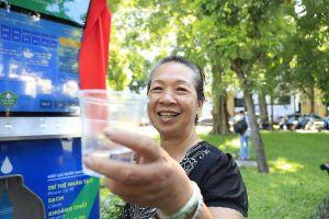 Cây lọc nước uống trực tiếp ở Hà Nội: Thêm tiện ích hiện đại phục vụ miễn phí người dân