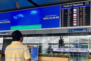 Sân bay Tân Sơn Nhất chính thức ngưng phát loa thông báo