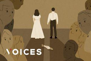 Hôn nhân Song - Song khép lại: Đám đông không phận sự, miễn vào