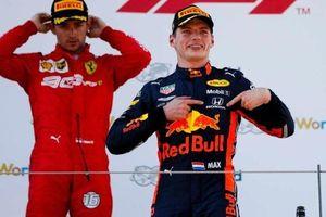 Verstappen giành chiến thắng kịch tính cho Red Bull