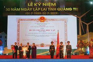 Kỷ niệm 30 năm tái lập tỉnh Quảng Trị