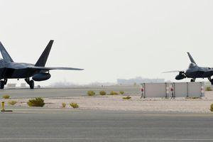 Mỹ điều máy bay tiêm kích F-22 tới vùng Vịnh
