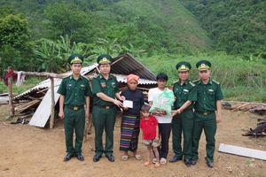 Hỗ trợ người dân khắc phục thiên tai