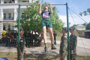 Hội thao Thể dục thể thao BĐBP Quảng Trị: 'Vượt nắng, thắng mưa', quyết tâm thi đấu cao