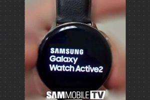Samsung Galaxy Watch Active 2 rò rỉ ảnh thực tế kèm cấu hình