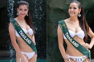 Thân hình nóng 'bỏng mắt' của tân Hoa hậu Hoàn vũ Thái Lan