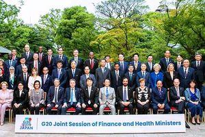 Bộ trưởng Đinh Tiến Dũng tham dự Hội nghị Bộ trưởng Tài chính và Bộ trưởng Y tế G20