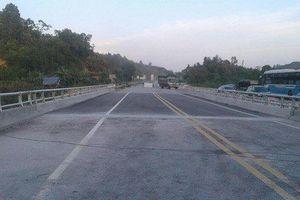 Sau sự cố cháy xe bồn chở xăng, cầu Ngòi Thủ chính thức thông xe vào 16h chiều nay