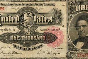 Có gì trên tờ tiền cực hiếm của Mỹ được bán với giá hơn 4,4 tỷ đồng?