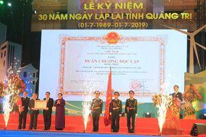 Quảng Trị kỷ niệm 30 năm ngày tái lập tỉnh
