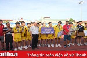 U15 Thanh Hóa được thưởng lớn sau khi giành vị trí á quân tại giải vô địch quốc gia