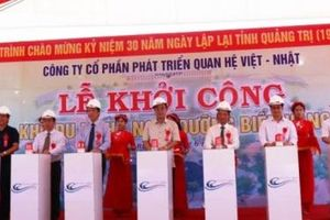 Quảng Trị: Khởi công dự án Khu du lịch - nghỉ dưỡng Biển Vàng