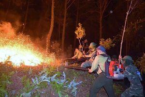 Cháy rừng liên tiếp ở Nghệ An, Hà Tĩnh