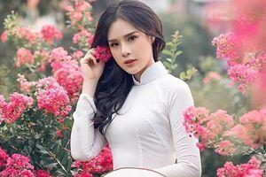 Nhan sắc 'mê người' của bạn gái cầu thủ Trọng Đại lọt chung khảo Miss World Việt Nam