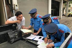 6 tháng, Hà Nội phạt gần 10.000 trường hợp vi phạm trật tư đô thị, ATGT