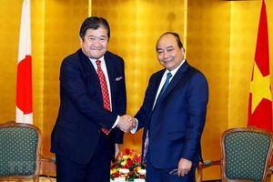Thủ tướng Nguyễn Xuân Phúc tiếp lãnh đạo doanh nghiệp Nhật Bản kinh doanh tại Việt Nam