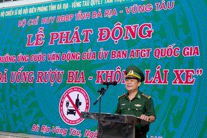 BĐBP Bà Rịa – Vũng Tàu phát động hưởng ứng cuộc vận động 'Đã uống rượu, bia - Không lái xe'