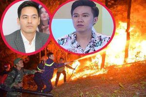 Phan Anh, Anh Đức bị antifan nhục mạ vì không chia sẻ tin cháy rừng Hà Tĩnh