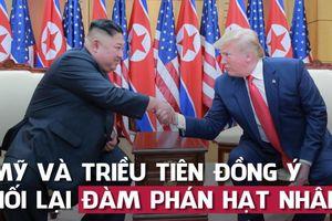 Mỹ - Triều sẽ sớm nối lại đàm phán sau 'cái bắt tay lịch sử' Trump-Kim ở DMZ