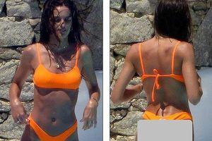 Siêu mẫu xứ Samba thả dáng tuyệt mỹ giữa nắng gió Hy Lạp