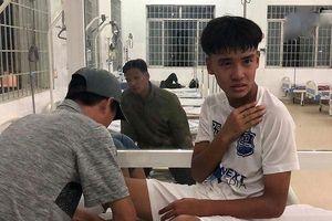 Cầu thủ HAGL gãy xương đòn ở trận ra quân giải U17 quốc gia