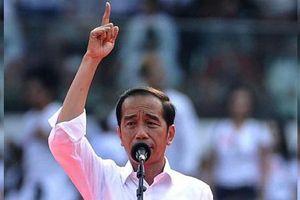 Indonesia: Tổng thống Widodo chính thức tuyên bố thắng cử