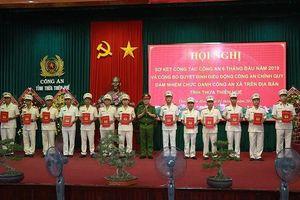 Thừa Thiên Huế điều động thêm 160 Công an chính quy về xã, thị trấn